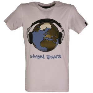 Global Beatz - Fashion Fit - WHITE
