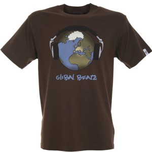 Global Beatz - Standard Fit - BROWN