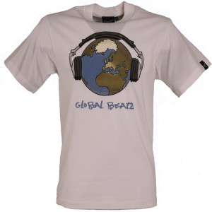 Global Beatz - Standard Fit - WHITE