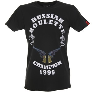 Russian Roulette - Fashion Fit - BLACK
