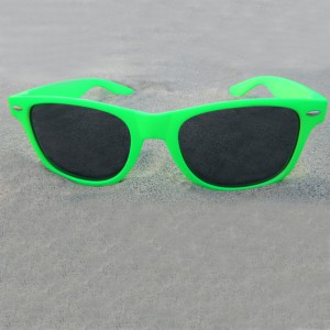 Wayfarer Neon Green Sunglasses