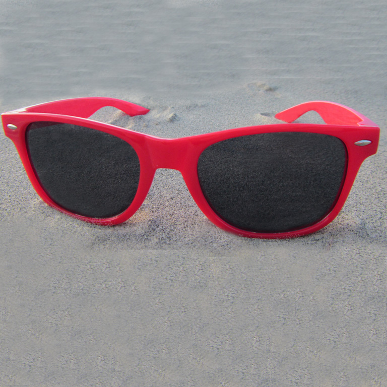 red wayfarer sunglasses s0zc  Wayfarer Red Sunglasses