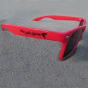 Wayfarer Red Sunglasses