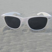 Wayfarer White Sunglasses